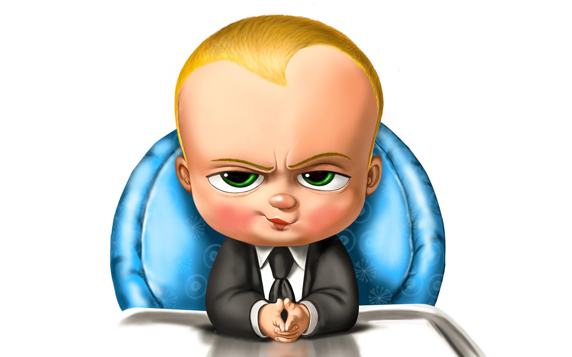 Alan Huang The Boss Baby