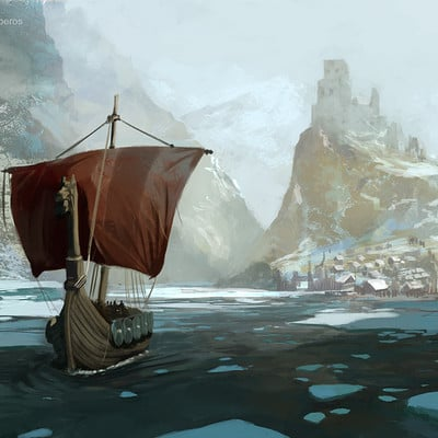 Mateusz michalski viking boat2