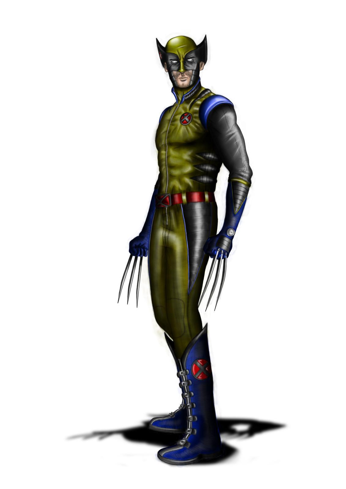 Wolverine (Hugh Jackman) Costume Redesign (2011)