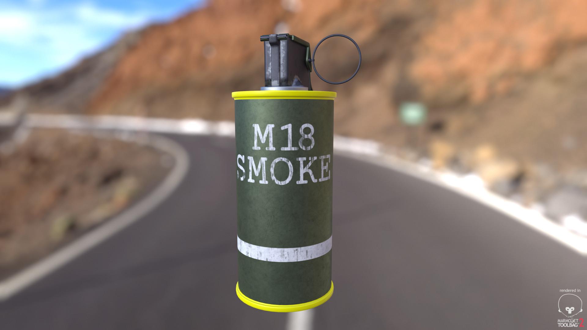 Yentl R  - M18 Smoke Grenade
