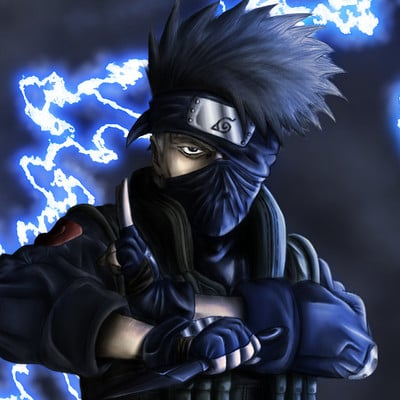 Matt fraser kakashi realistic with background