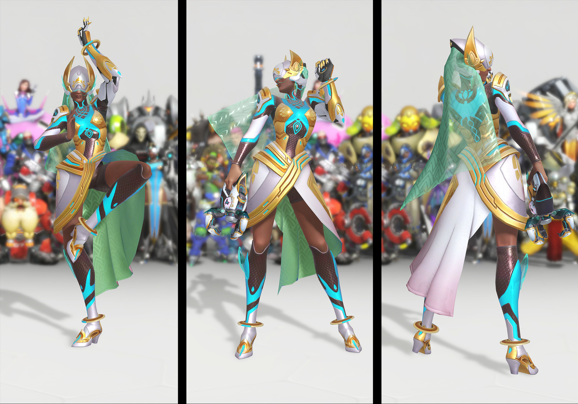 Overwatch 1 Year Anniversary — Oasis Symmetra by Kristen Perry