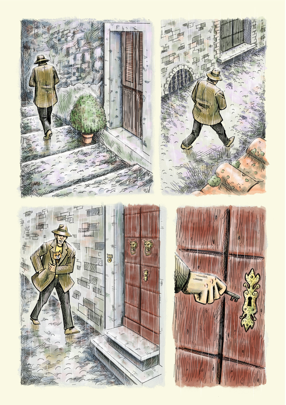 John ciarfuglia page 3 art