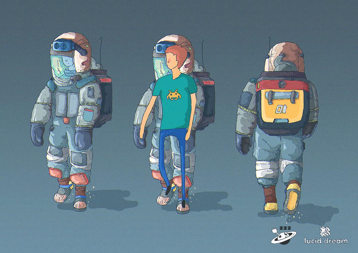 Tomas Ciger Eniac - Lucid Dream - game concept art