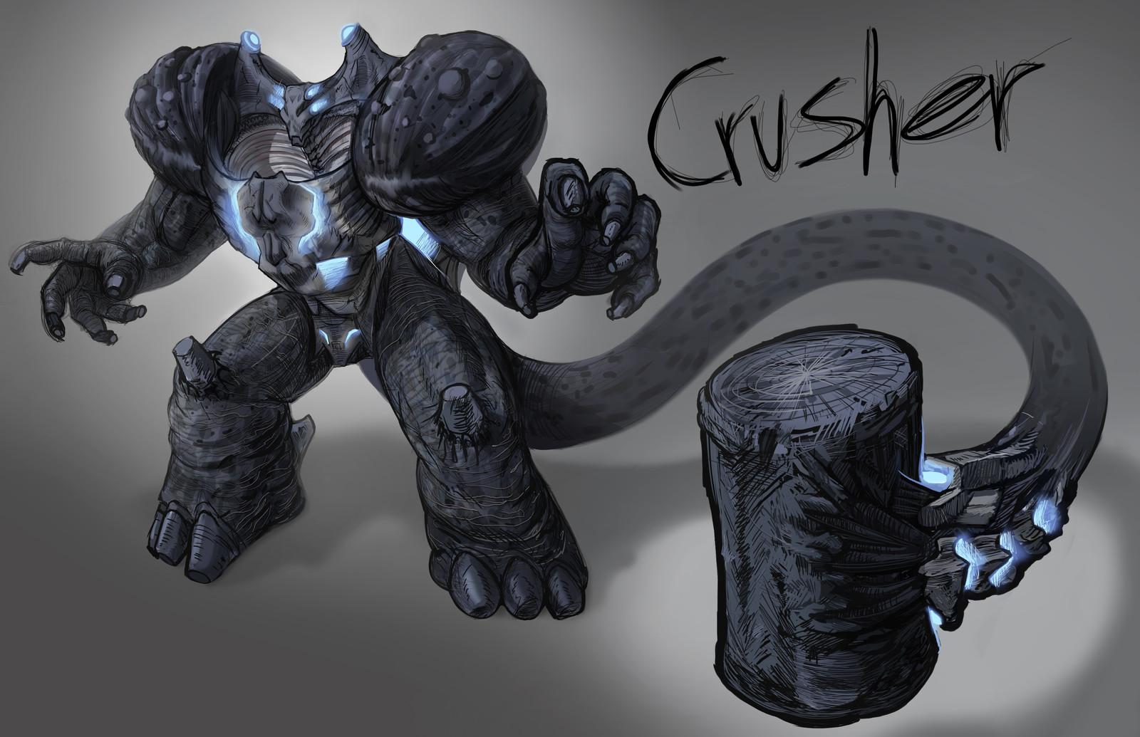 Crusher, Kaiju Challenge