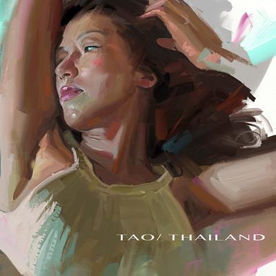 Chris petrocchi tao thai lettrers