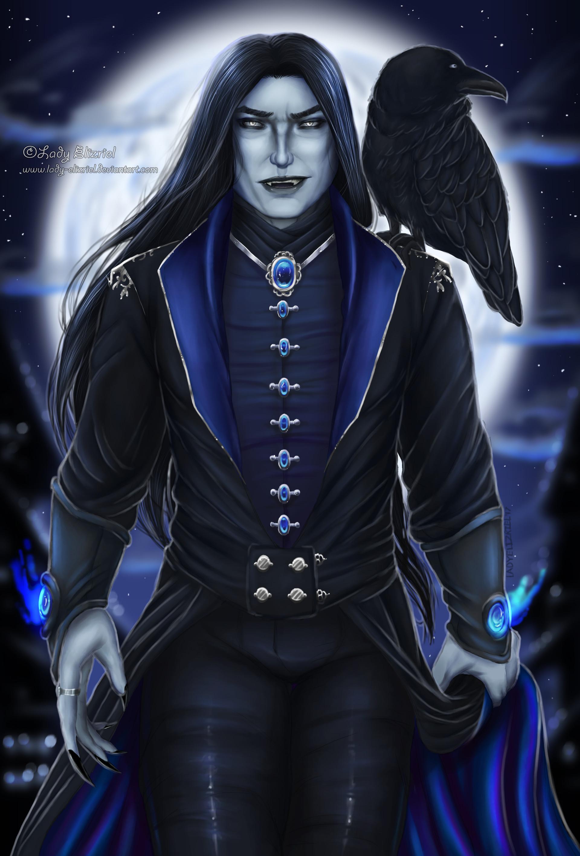 Lady Elizriel - Card #2: Lord Mathias Nightshade