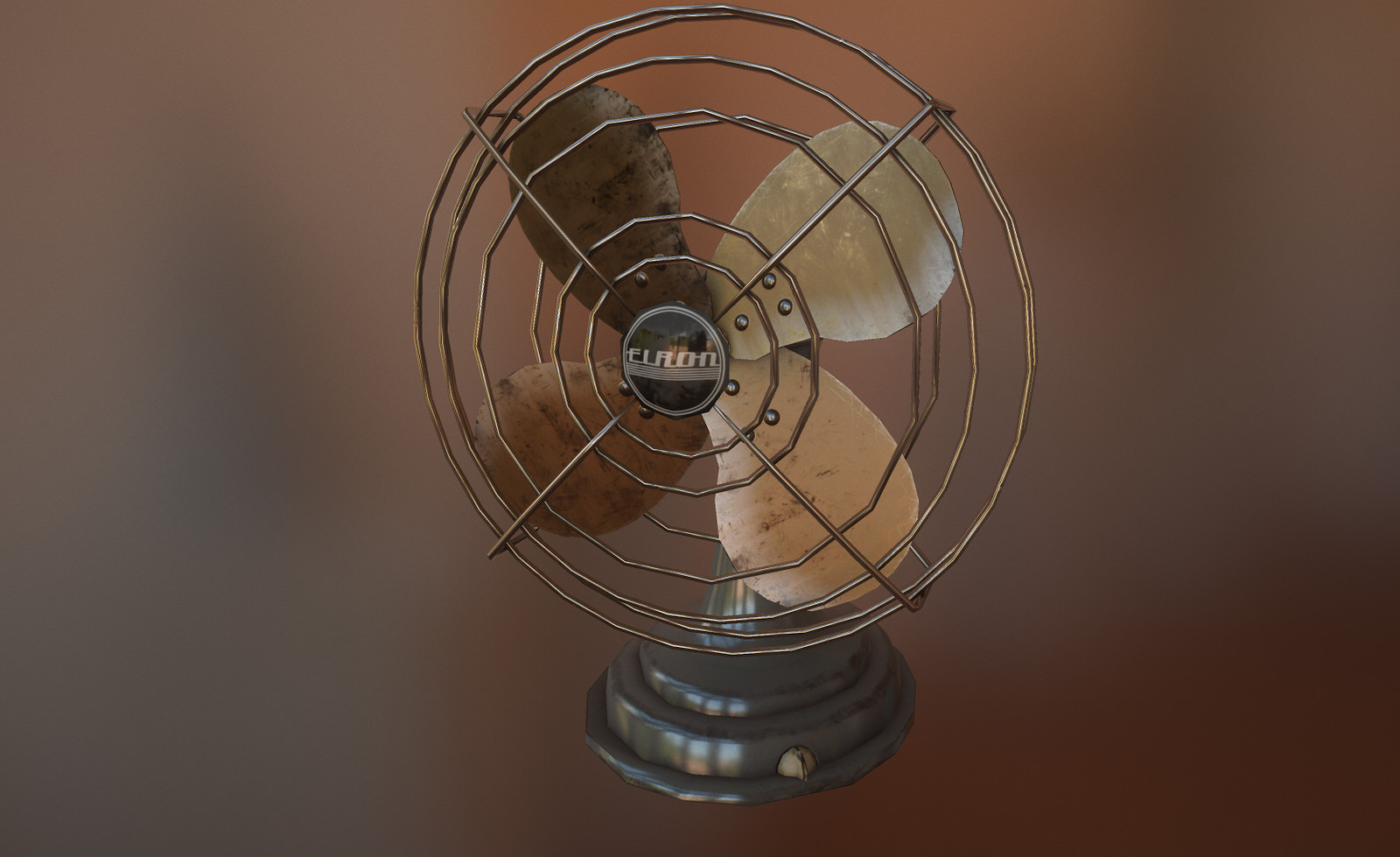 Desk Fan and old Radiator