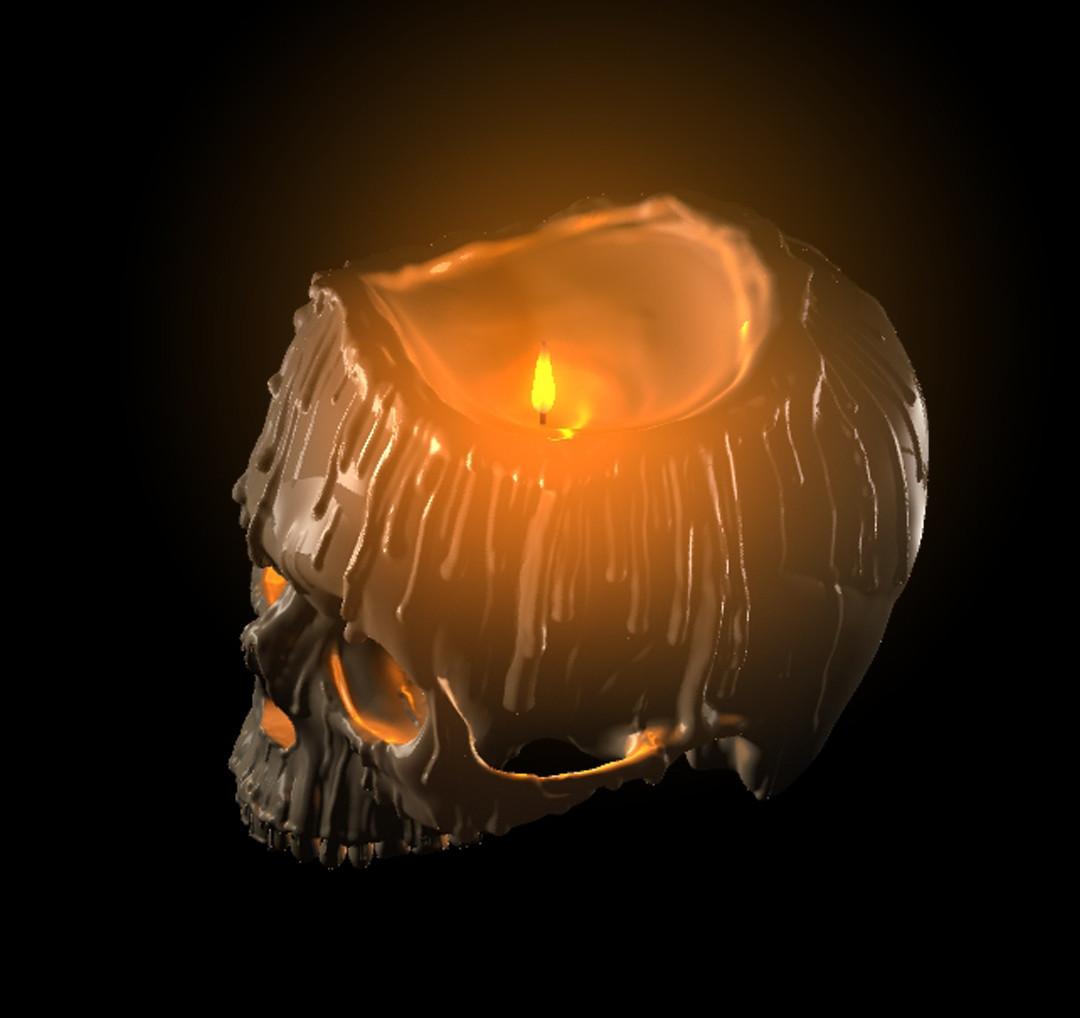 Jesse James Skull