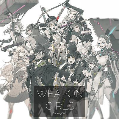Koyori n weapon girls groupshot square