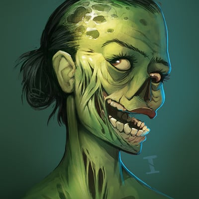 Ivan nikulin zombiegirlface