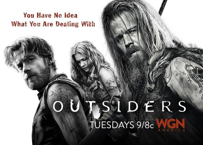 OUTSIDERS : TV SHOW  Concept art from the show