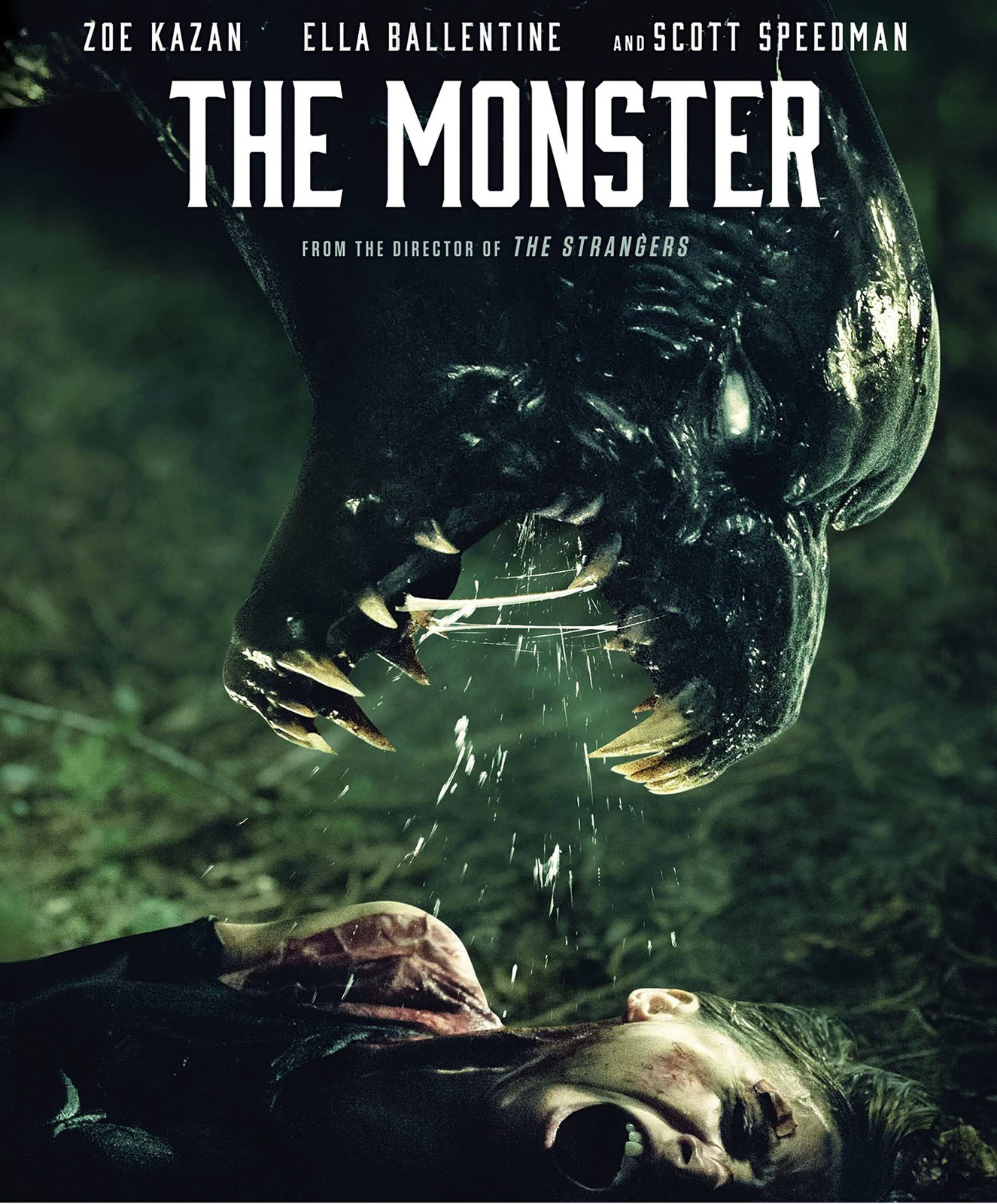 THE MONSTER  : Movie  Concept design for the MONSTER from the film, plus some promo images.