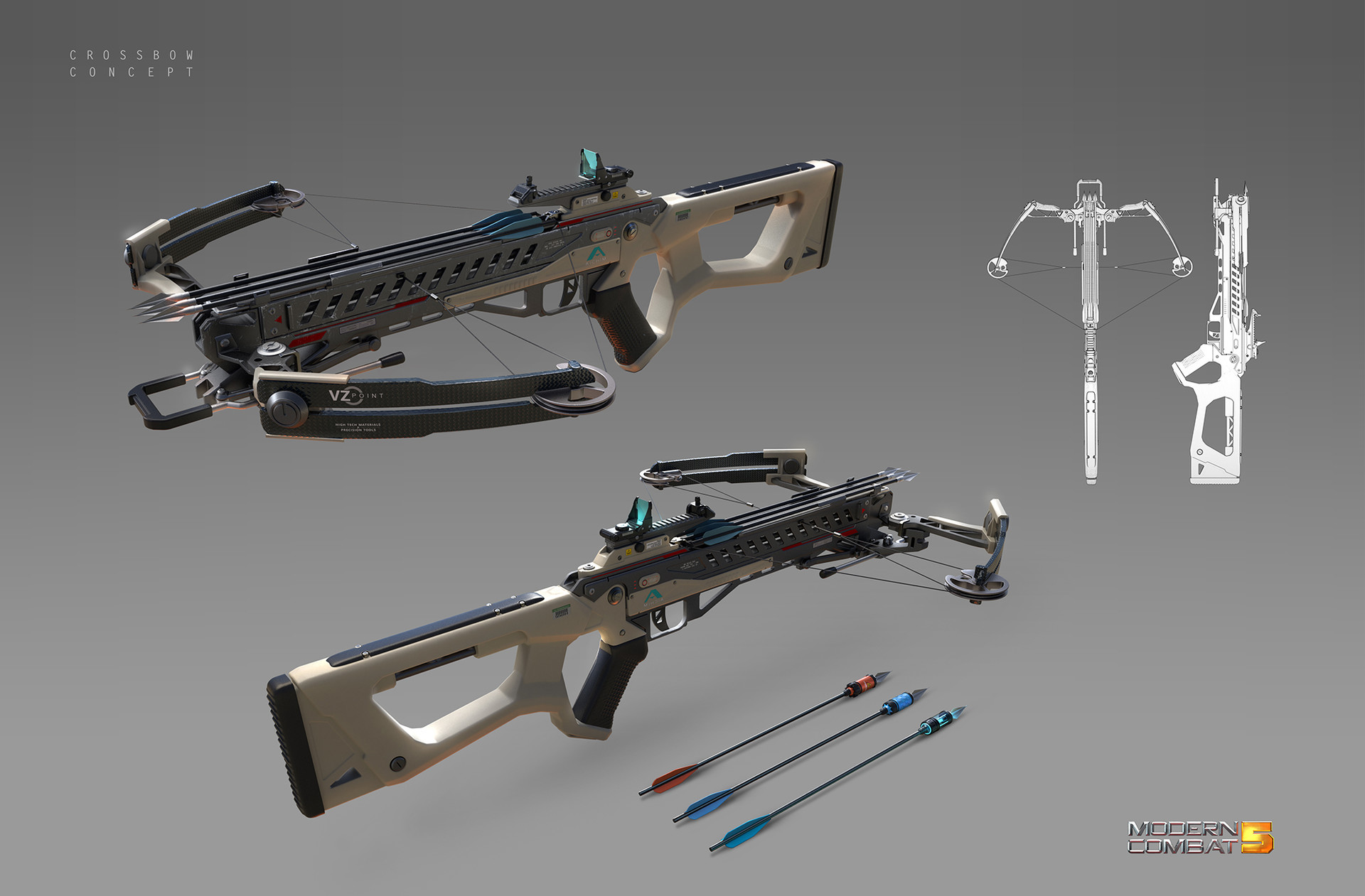 Alex ichim crossbow concept