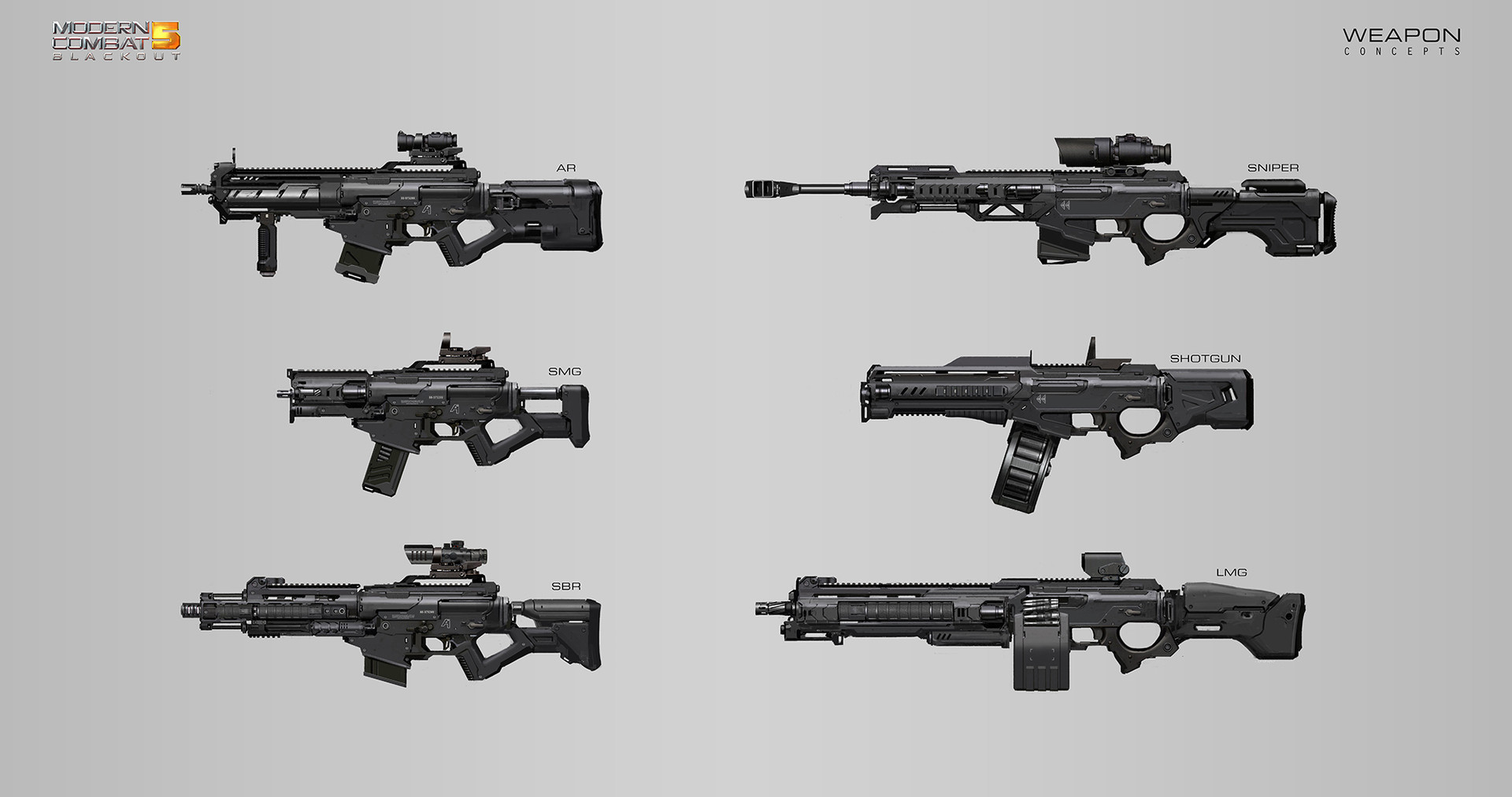Alex ichim weapon concepts