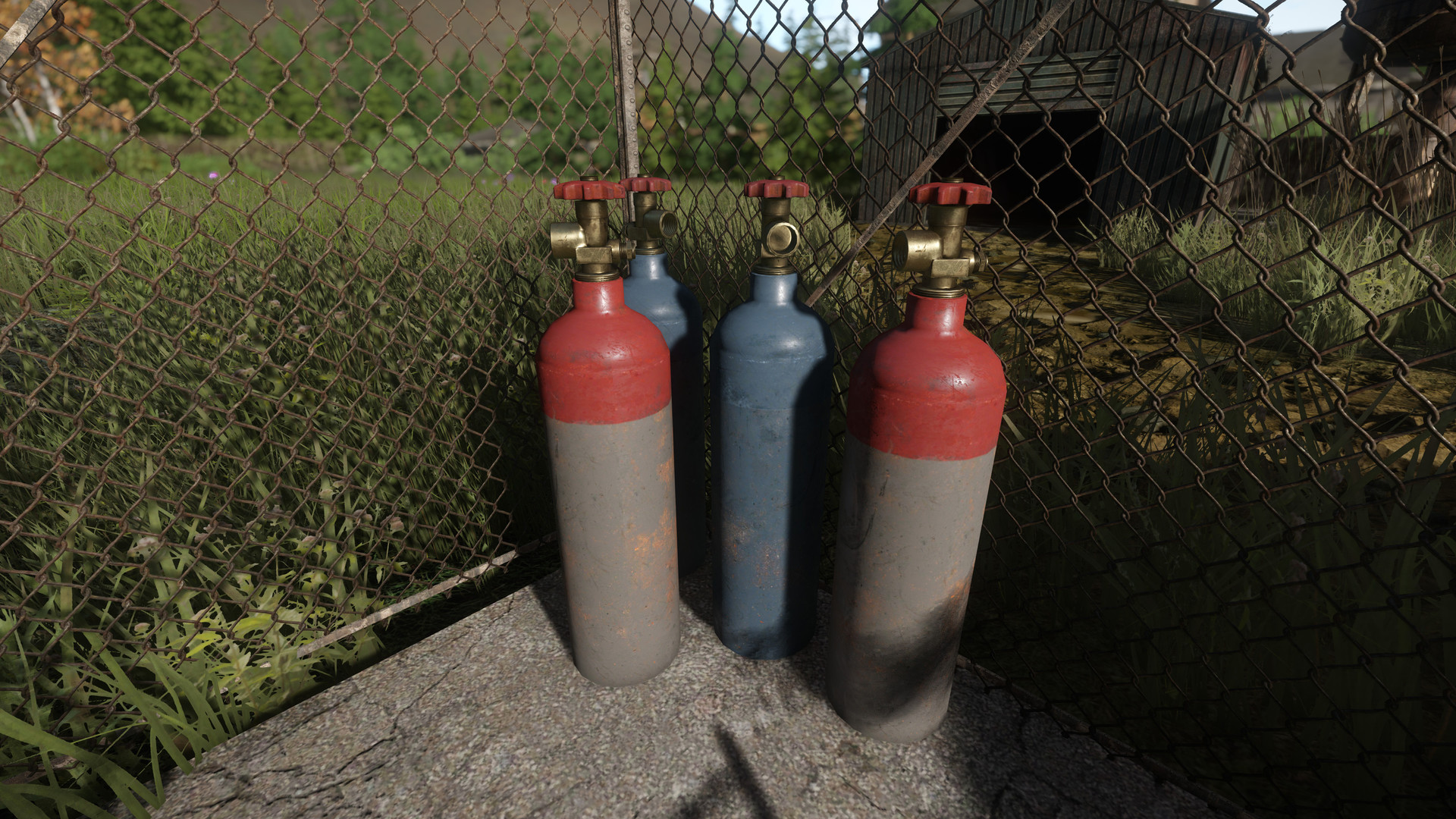 Nitrogen Tanks are used to help fill out industrial areas.