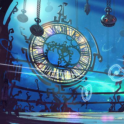Pavel goloviy room clocks view