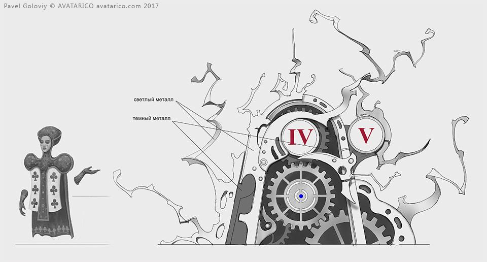 Pavel goloviy clock gears