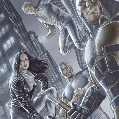 Marco santucci the defenders