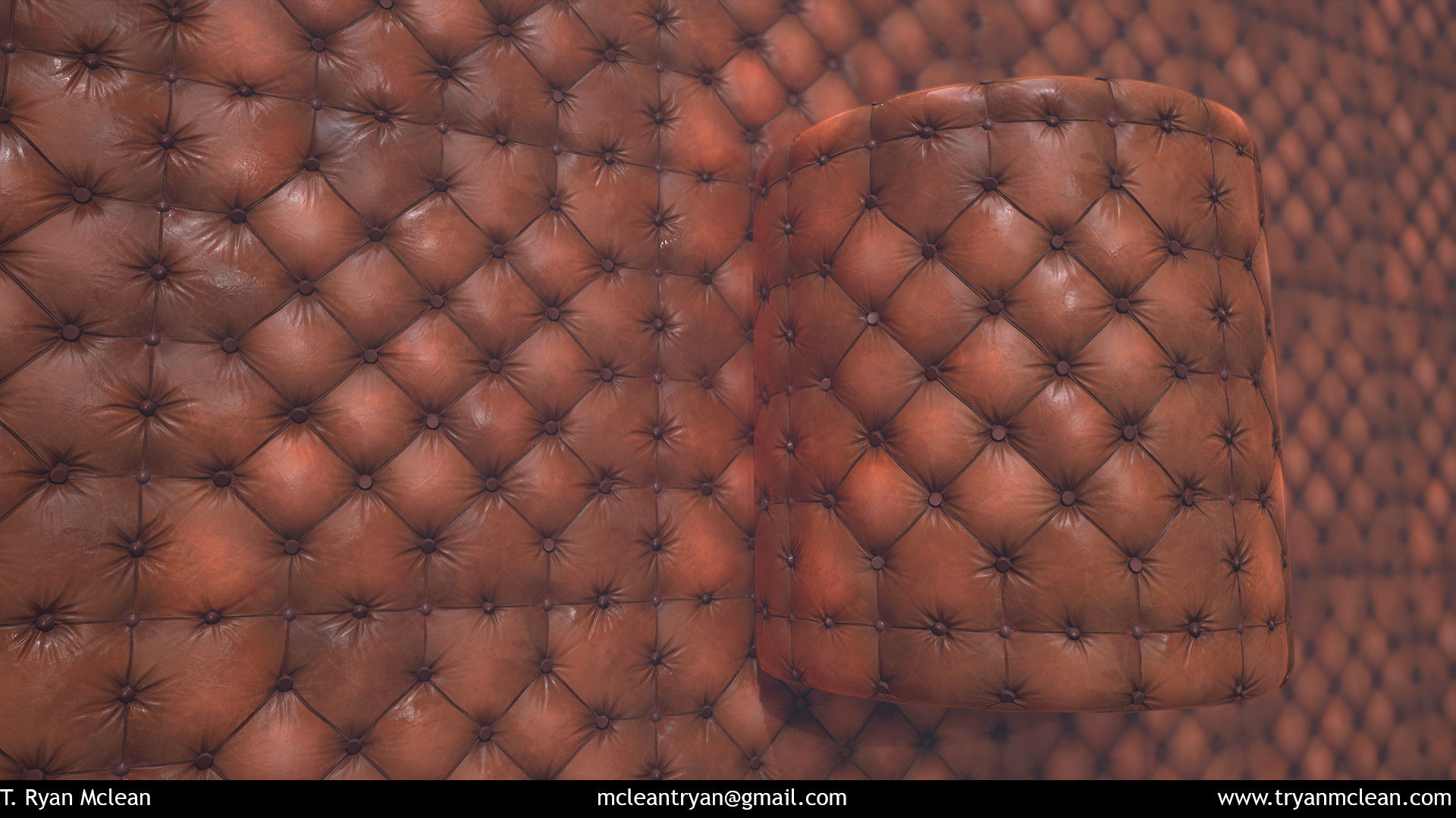 Leather Sofa tileable texture.