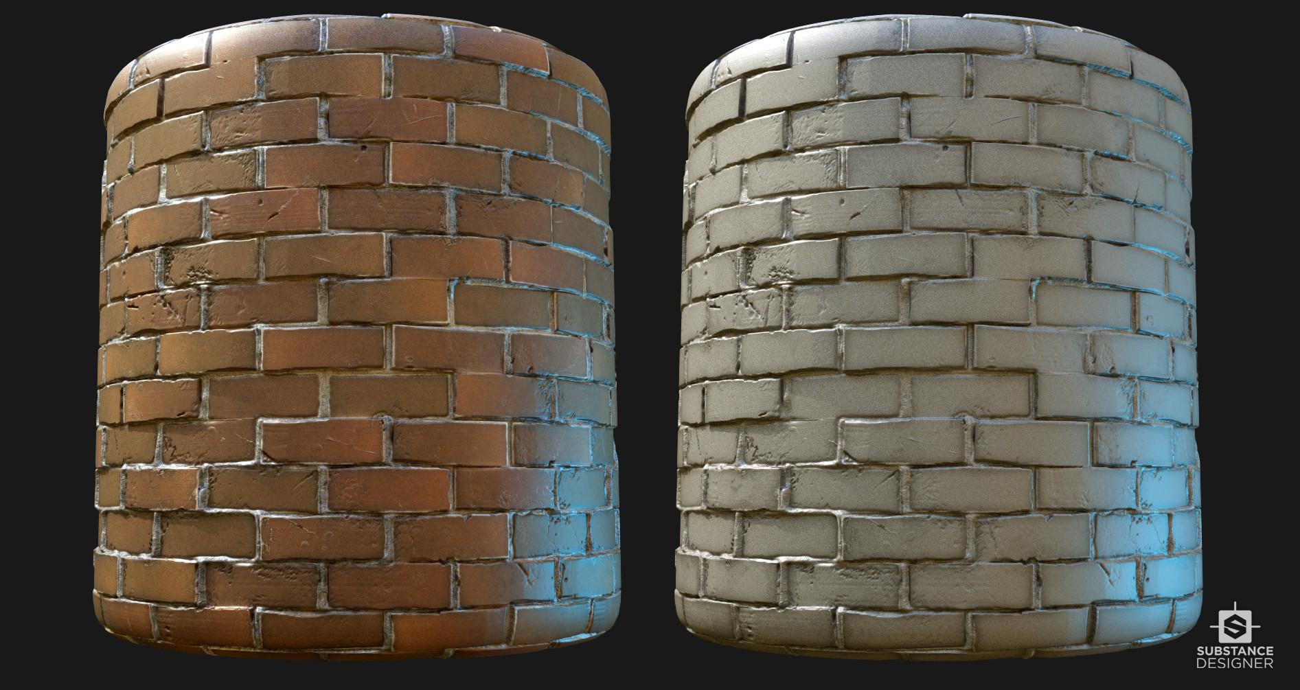 Victor santos bricks cylinder 02