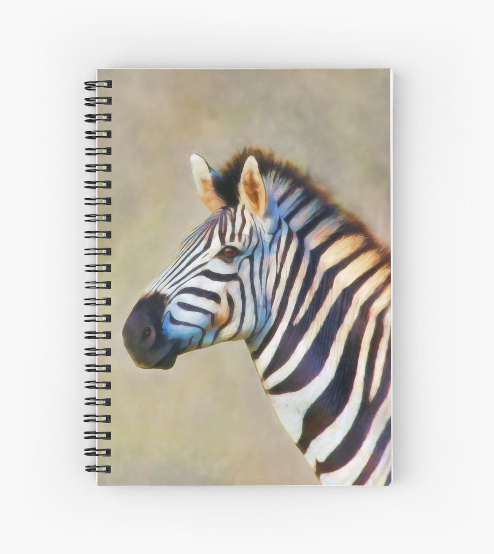 Eddie christian zebra noteboke redbubble