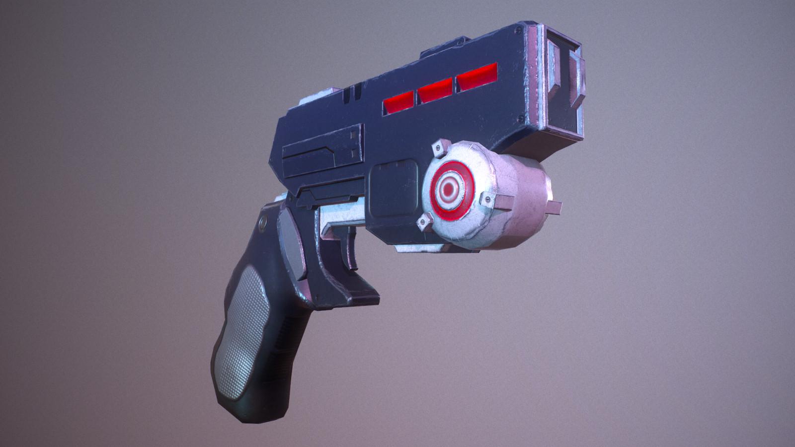 Sci fi blaster, Deliverance