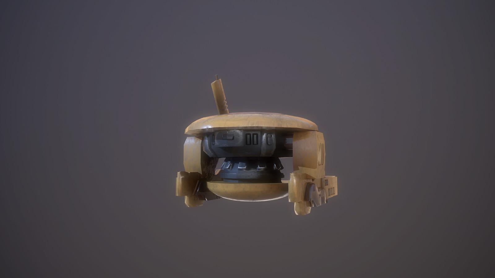 Tau Drone back