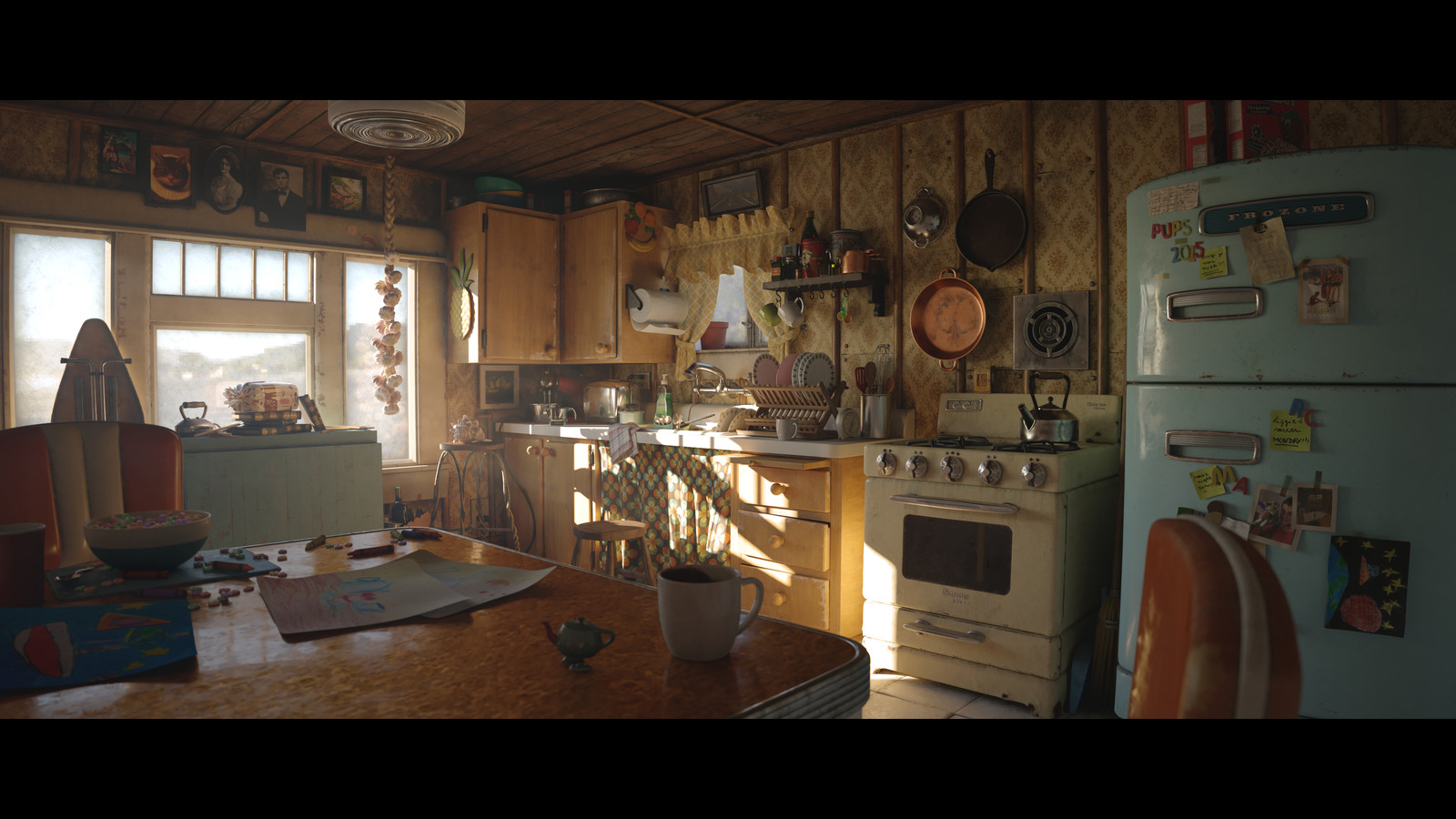 Everything and the Kitchen Sink - Pixar RenderMan Challenge Winner