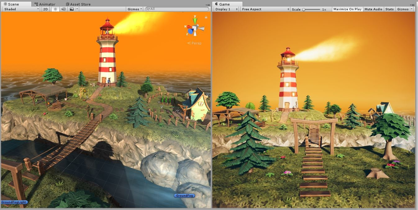 ArtStation - Fantasy level made with Unity 5 6 , Jay Anam