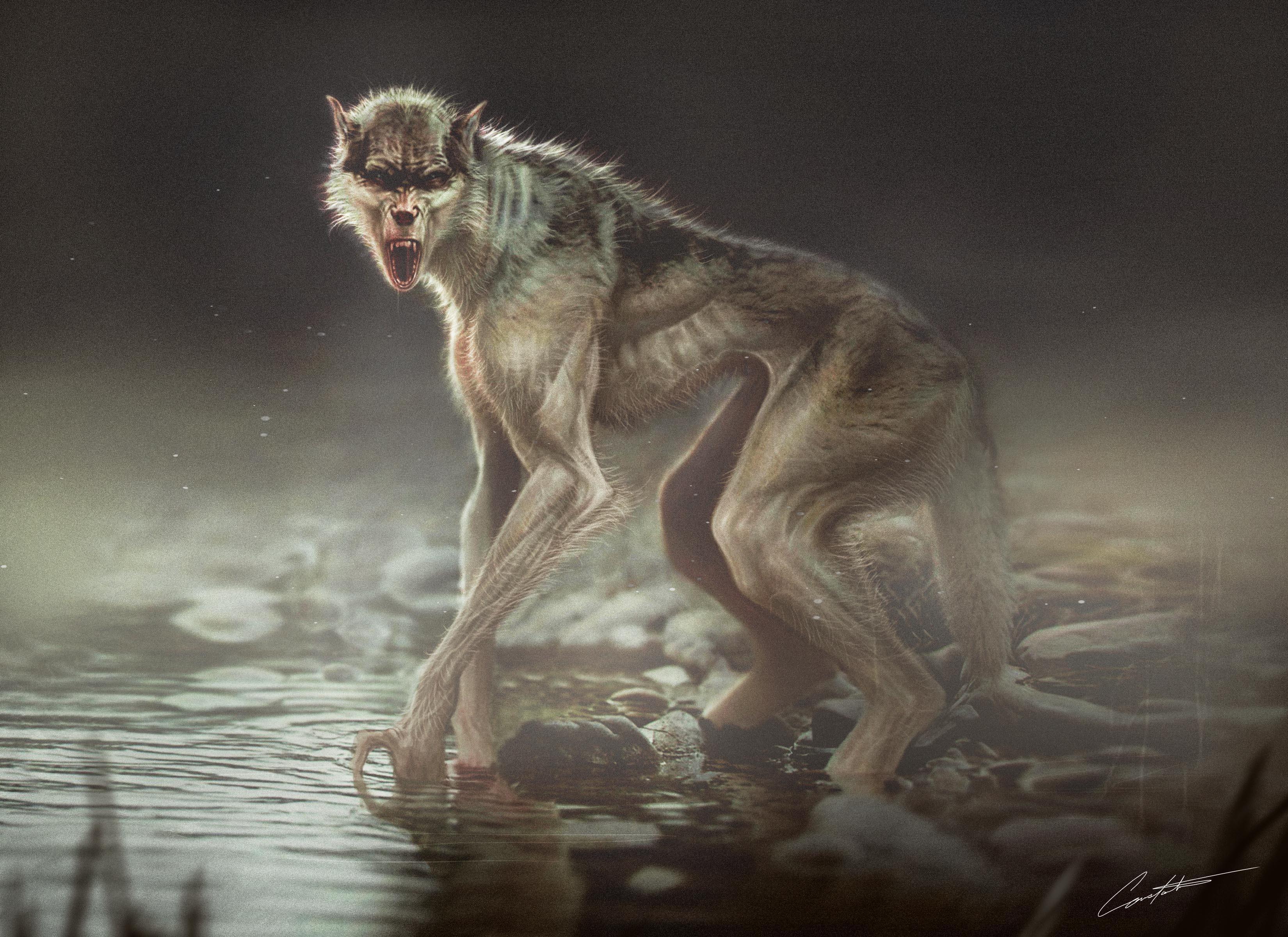 werewolf creature design