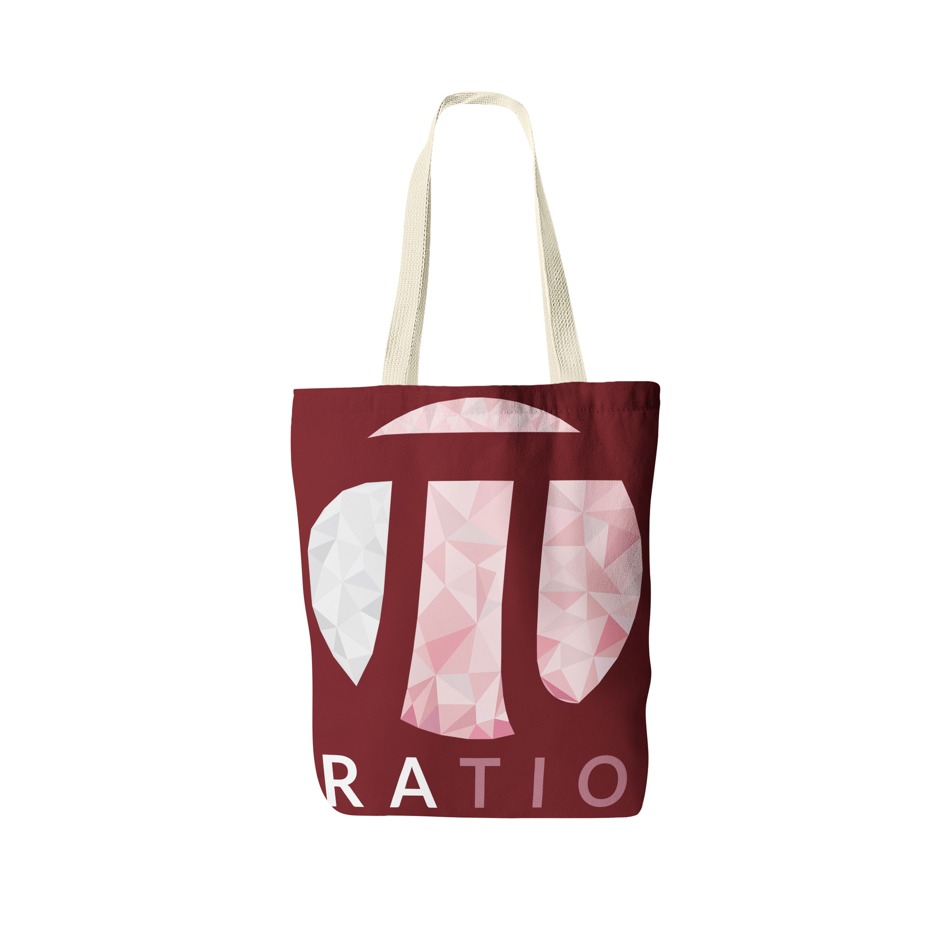 Jerry ubah ratio tote bag front view 2