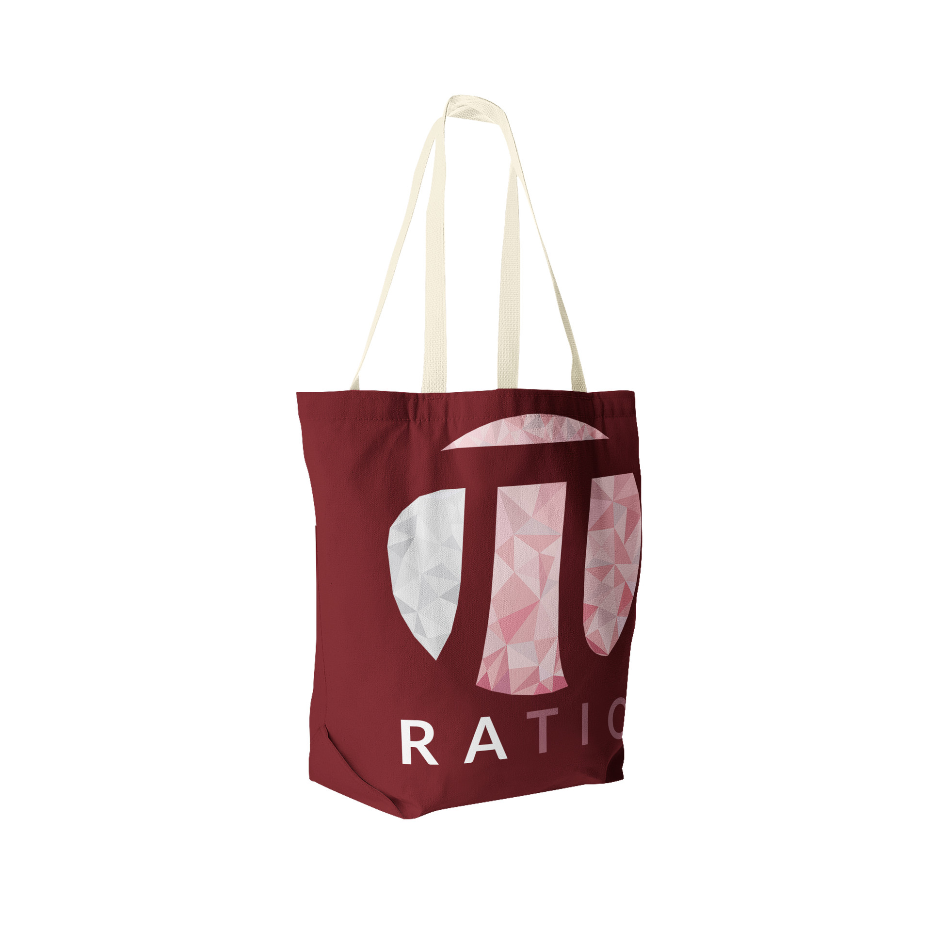 Jerry ubah ratio tote bag perspective view 2