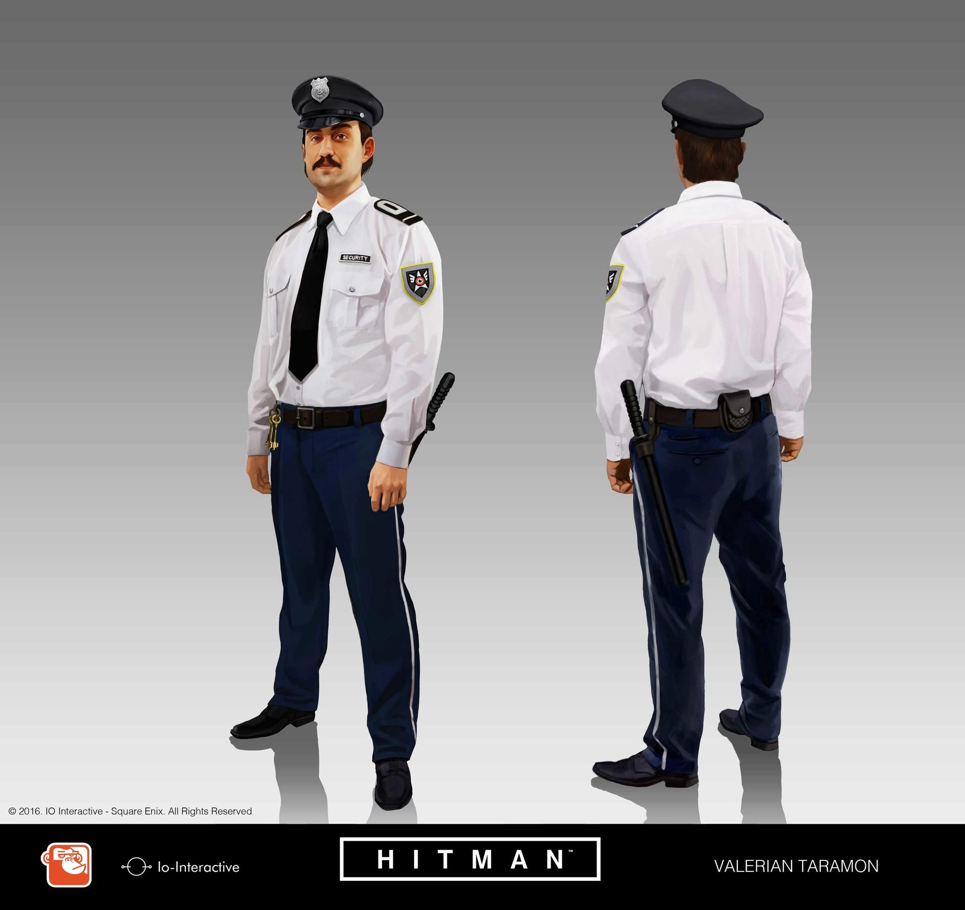 Artstation Hitman 2016 Valerian Taramon