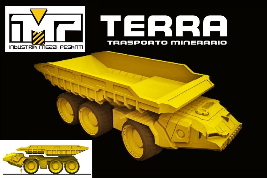 TERRA  Mining Truck https://www.facebook.com/IndustriaMezziPesanti/?ref=bookmarks