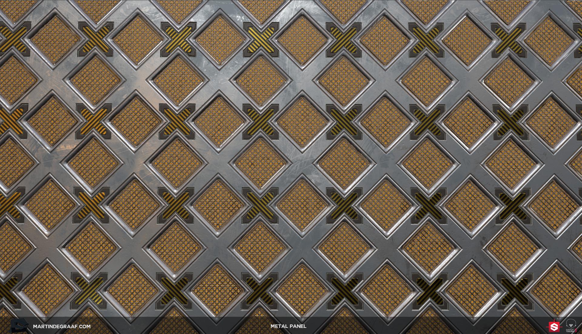 Martin de graaf metal panel substance plane2 martin de graaf 2017