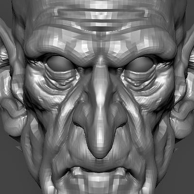 2 Hours speed sculpt WIP