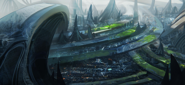 Alien city - Week 8