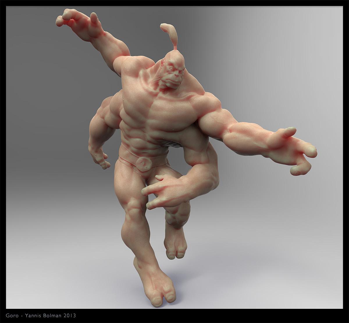Yannis Bolman - Goro - Mortal Kombat