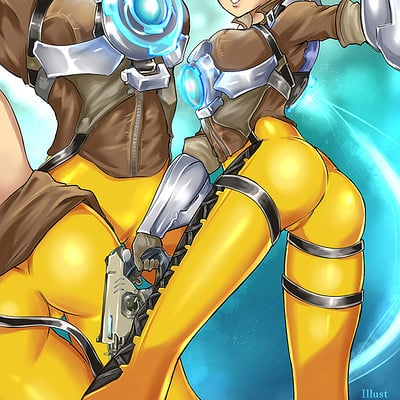 Giovanni zaccaria tracer overwatch by redjet lq