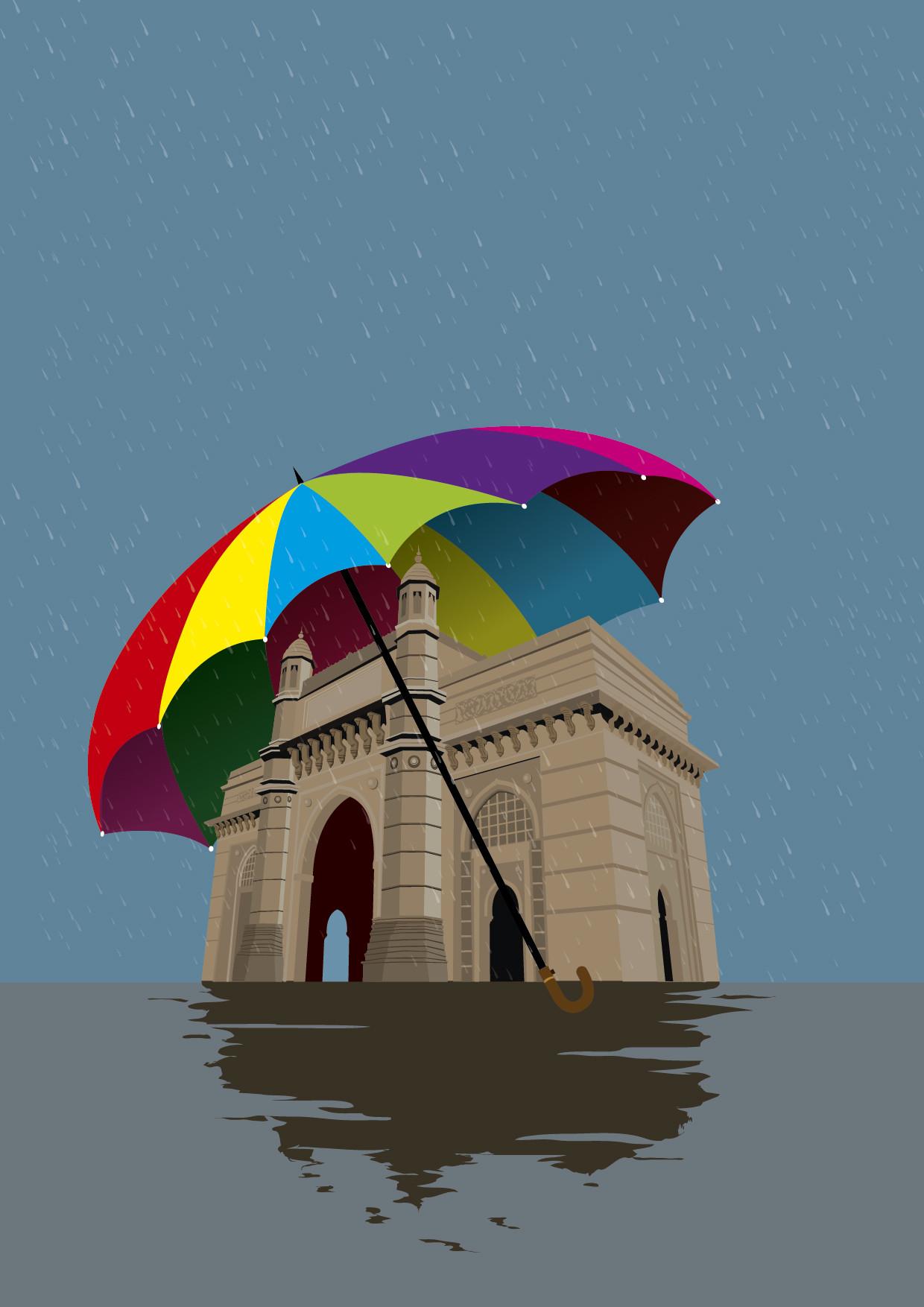 Rajesh sawant gateway in rain 01