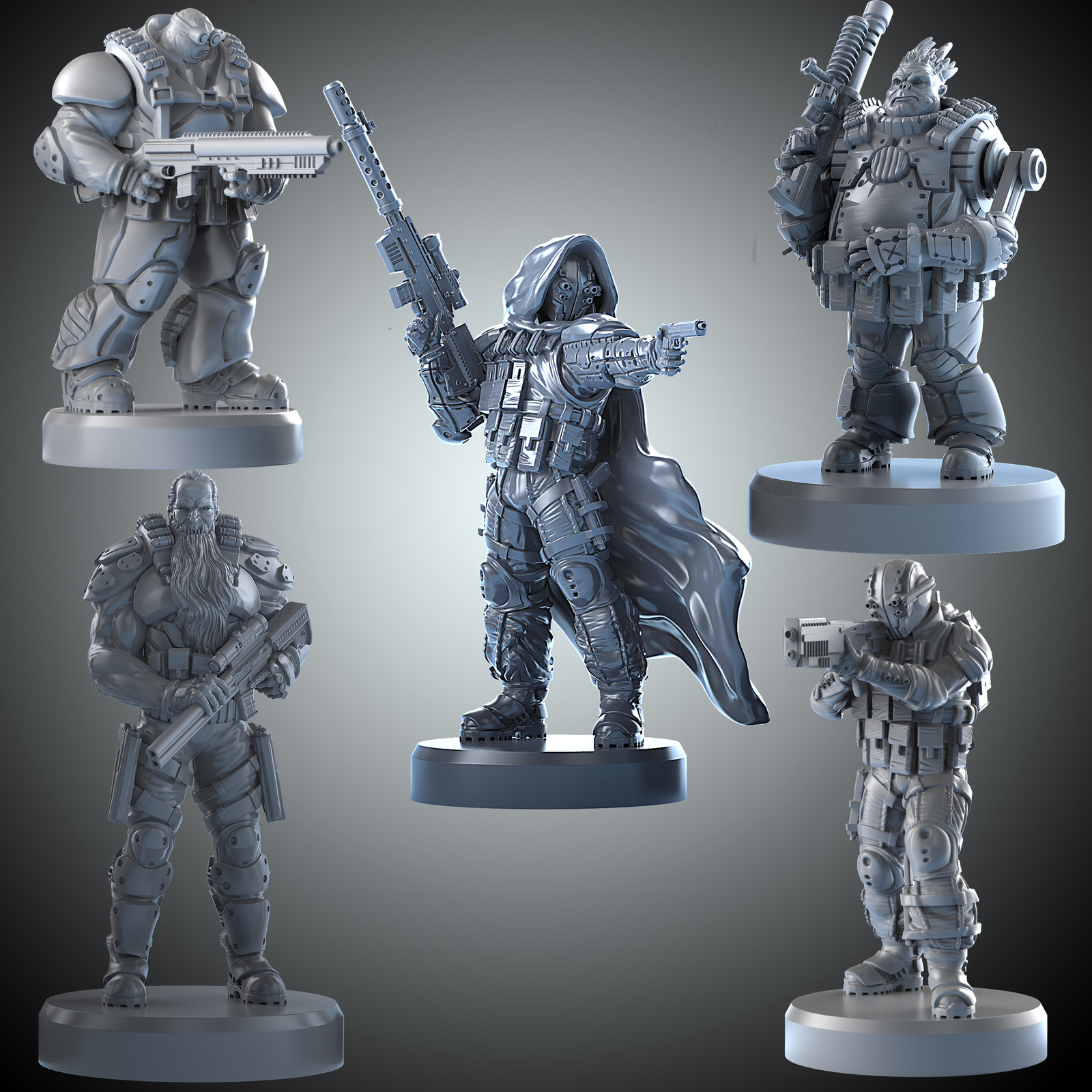 Archona Games miniatures