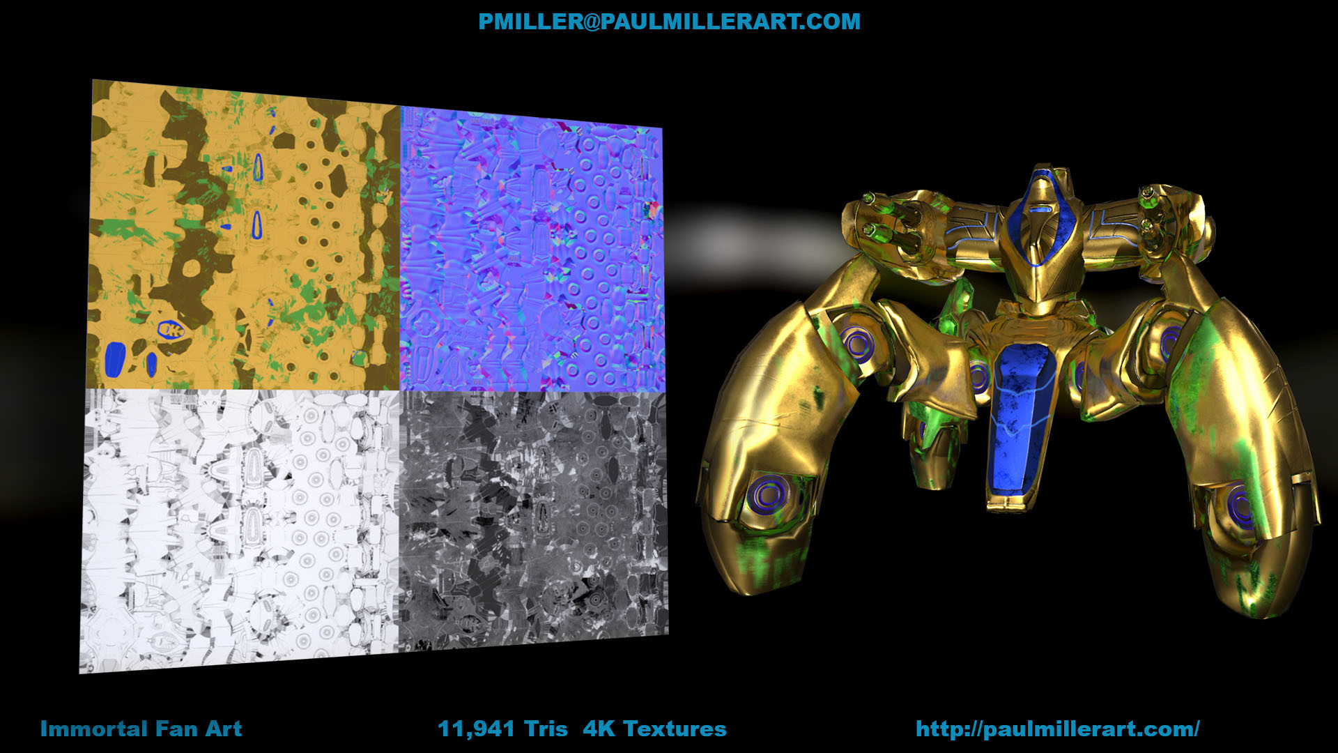 Paul miller immortal and textures