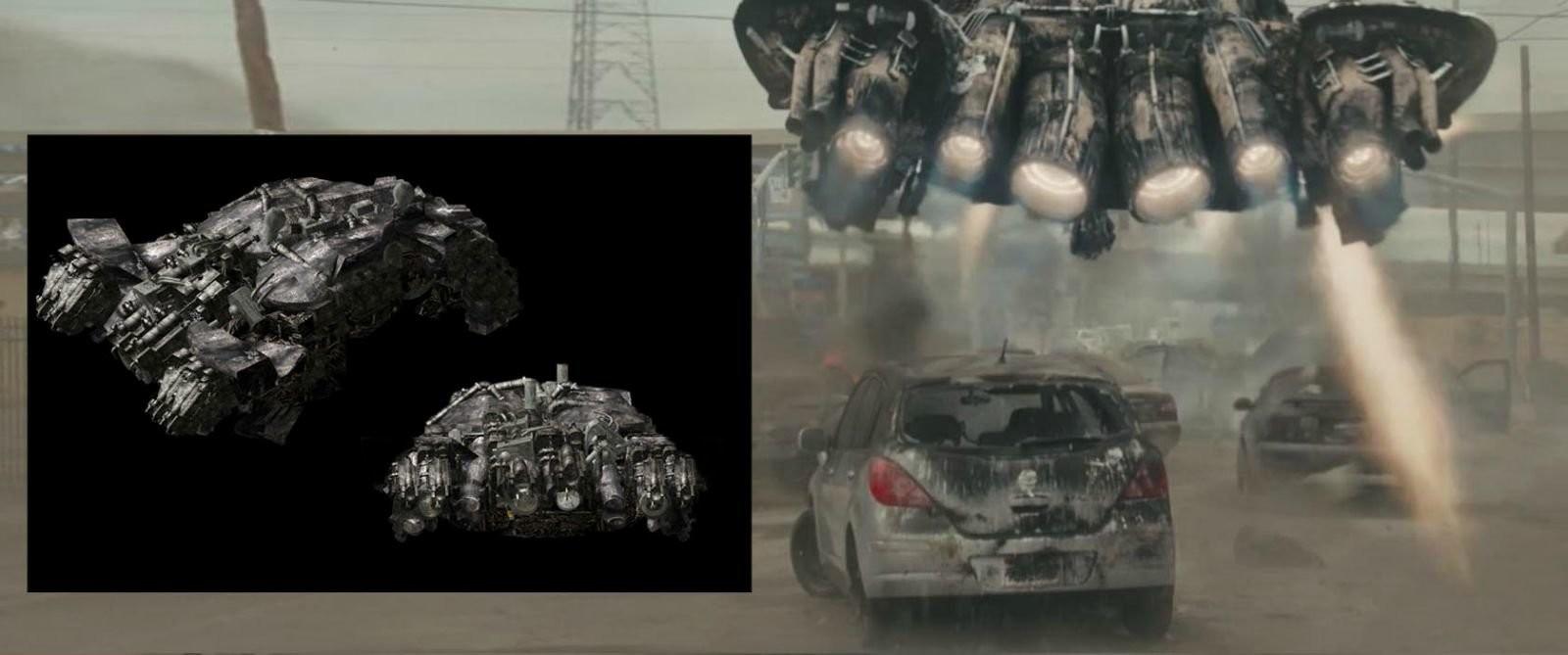 DESIGN - 2- SCREEN Battle LA : Movie