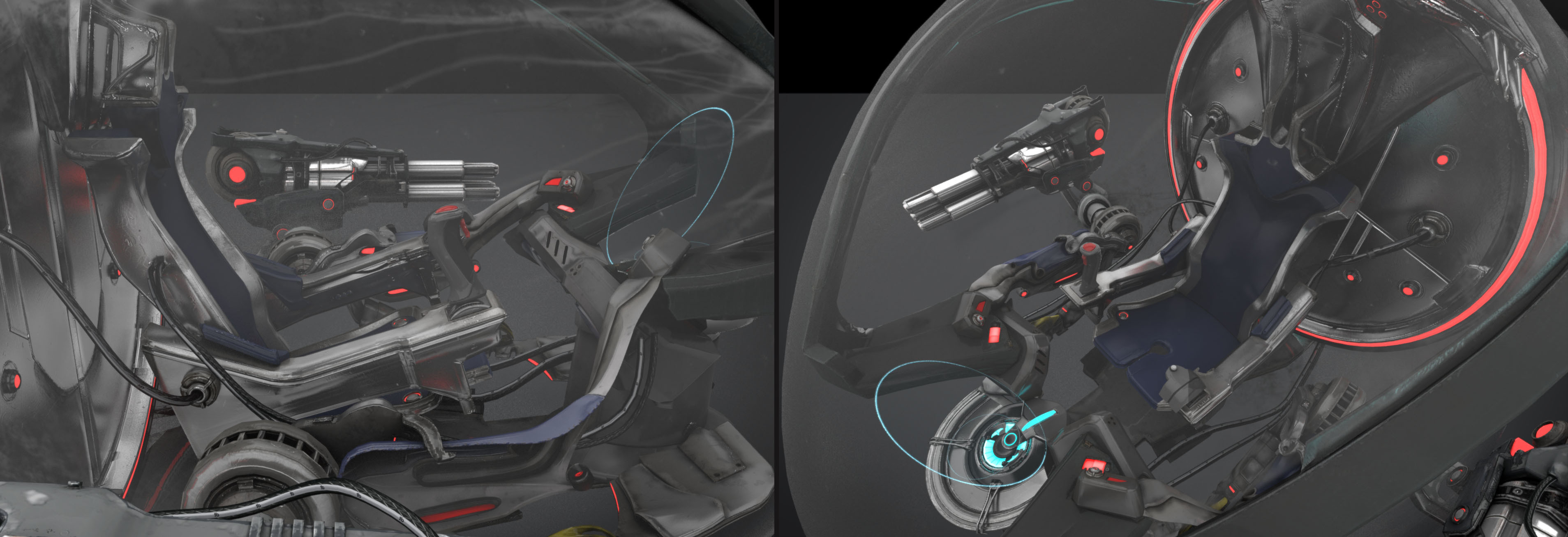 3D COCKPIT . FOR IN GAME