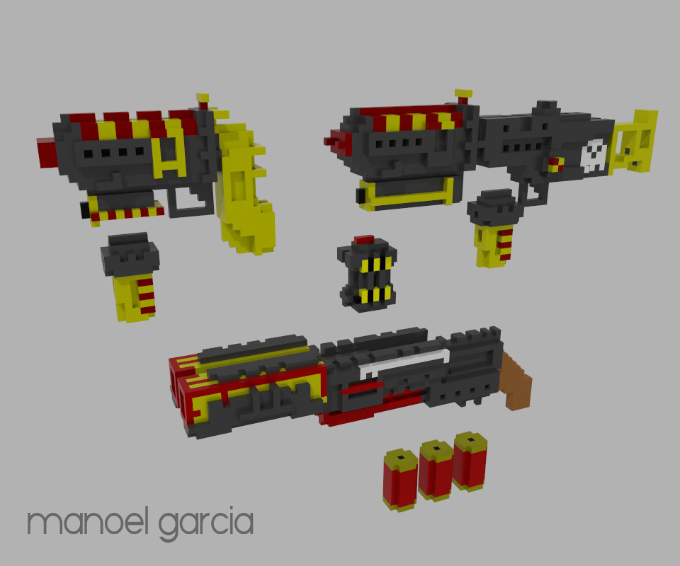 Manoel garia weapons