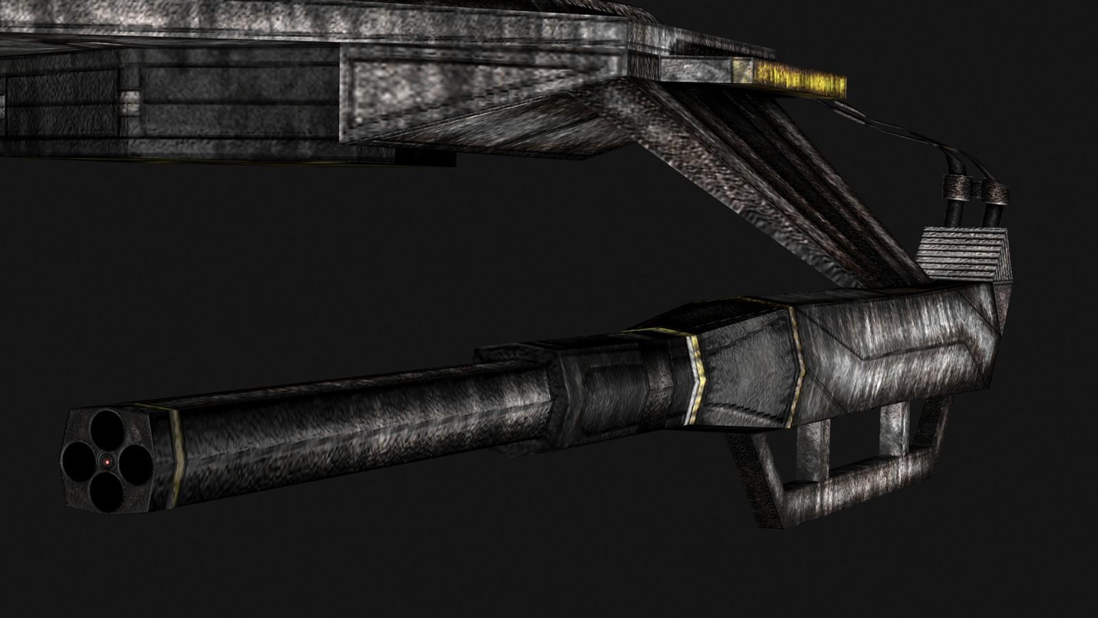 Damaged Texture Gun