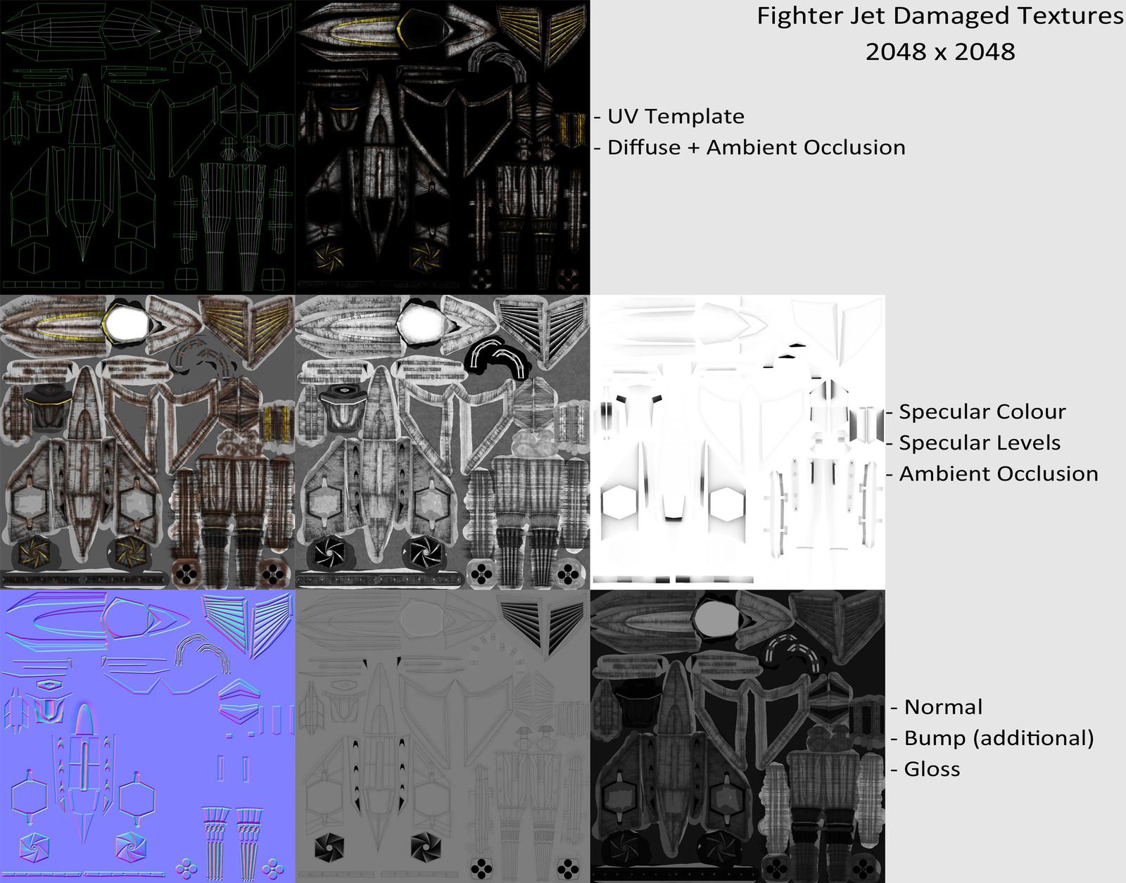 Texture Maps Damaged