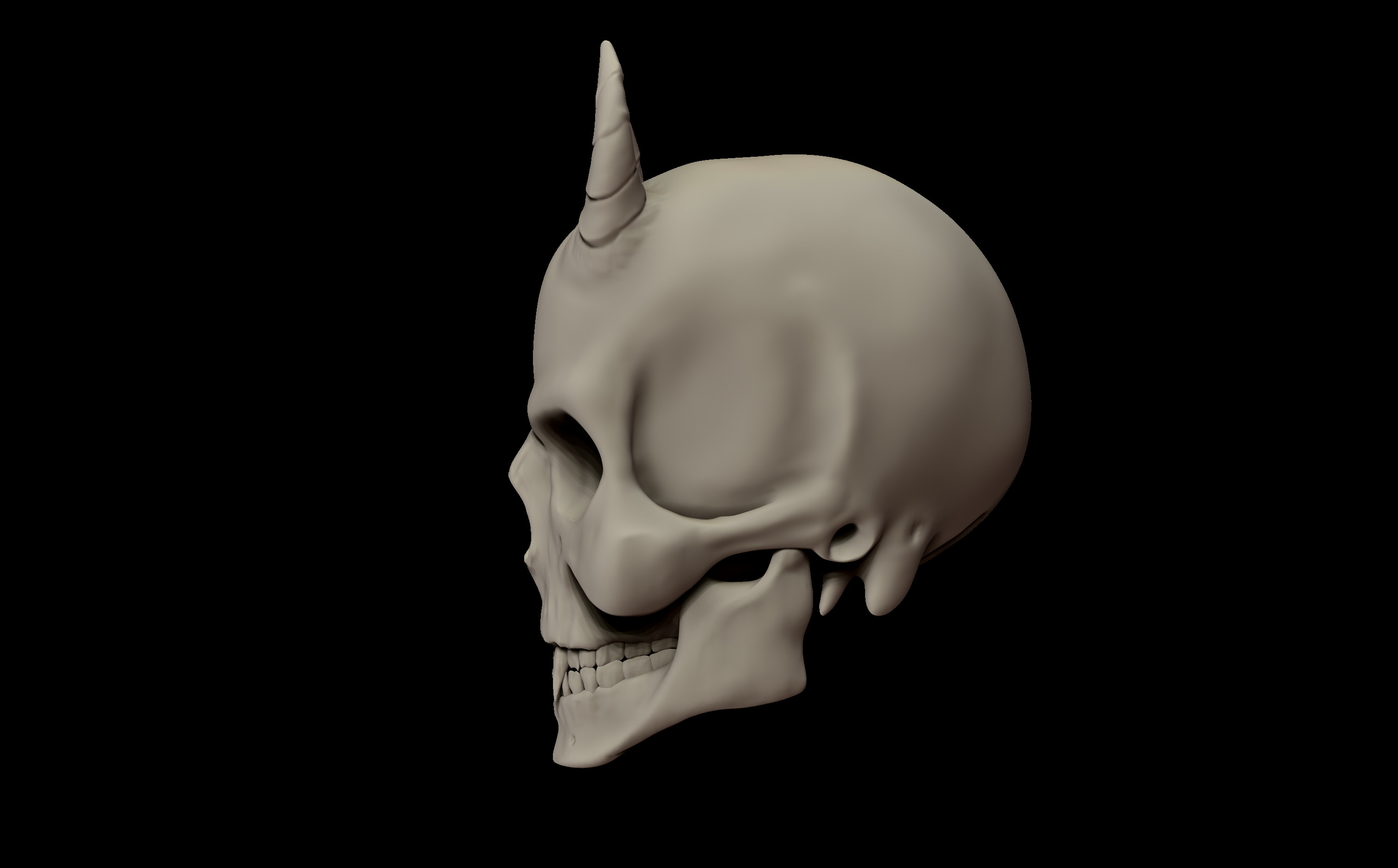 Clay render - Whole