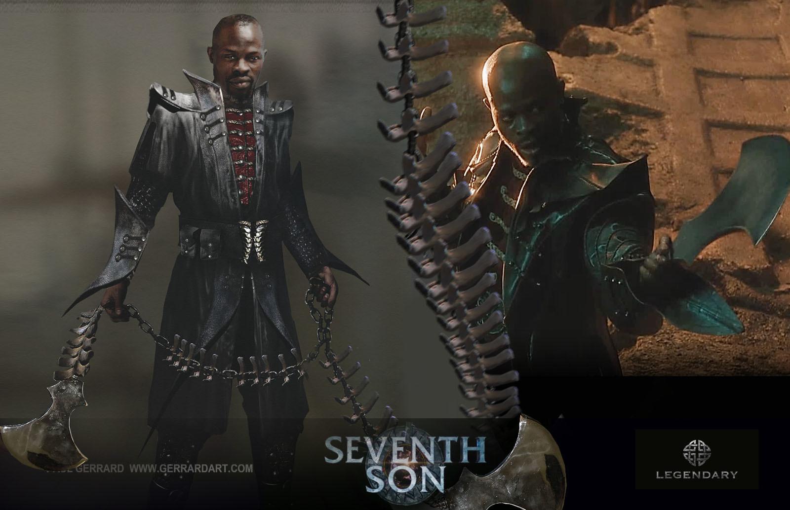 DESIGN - 2- SCREEN Seventh Son : movie